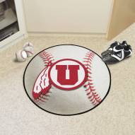 Utah Utes Baseball Rug