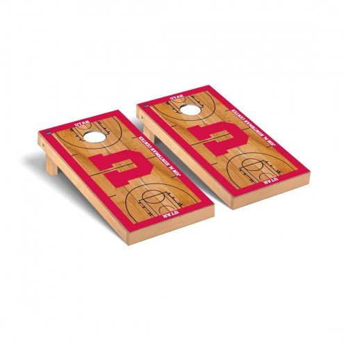 Utah Utes Basketball Court Cornhole Game Set
