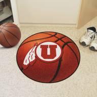 Utah Utes Basketball Mat
