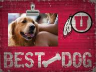 Utah Utes Best Dog Clip Frame