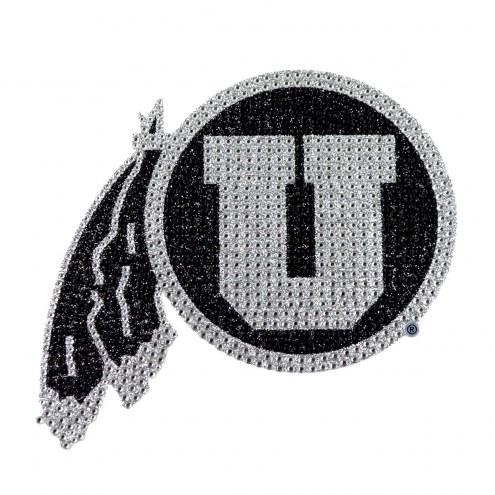 Utah Utes Bling Car Emblem