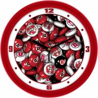 Utah Utes Candy Wall Clock