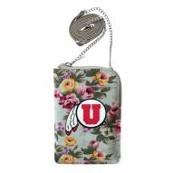 Utah Utes Canvas Floral Smart Purse
