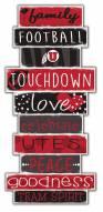 Utah Utes Celebrations Stack Sign