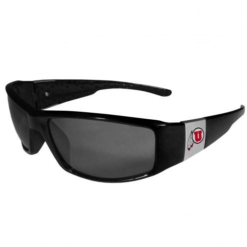 Utah Utes Chrome Wrap Sunglasses