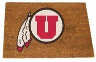 Utah Utes Colored Logo Door Mat