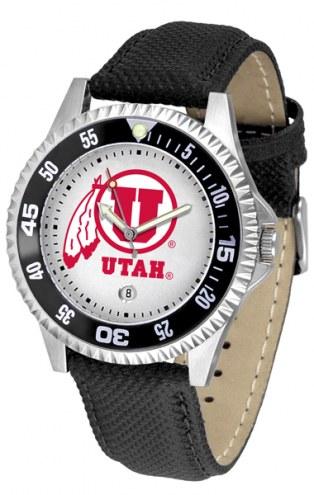 Utah Utes Competitor Men's Watch