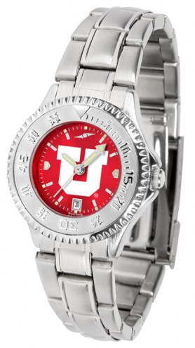 Utah Utes Competitor Steel AnoChrome Women's Watch