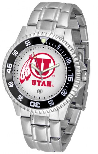 Utah Utes Competitor Steel Men's Watch