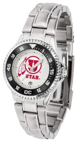 Utah Utes Competitor Steel Women's Watch