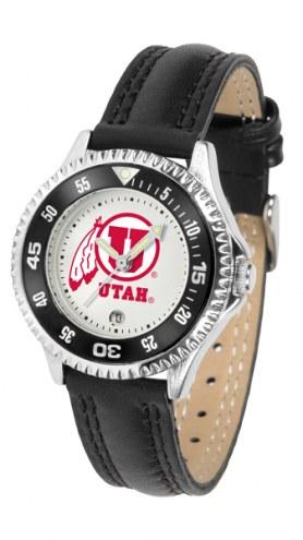 Utah Utes Competitor Women's Watch