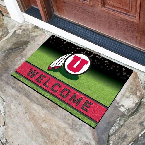 Utah Utes Crumb Rubber Door Mat
