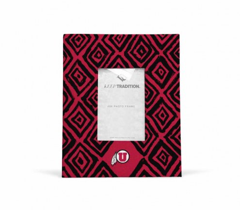 Utah Utes Diamond Picture Frame