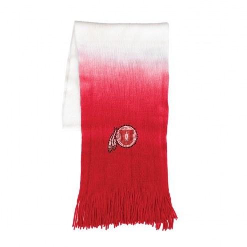 Utah Utes Dip Dye Scarf