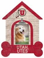 Utah Utes Dog Bone House Clip Frame