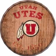 """Utah Utes Established Date 24"""" Barrel Top"""
