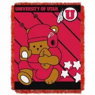 Utah Utes Fullback Baby Blanket