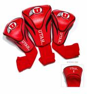 Utah Utes Golf Headcovers - 3 Pack
