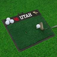 Utah Utes Golf Hitting Mat