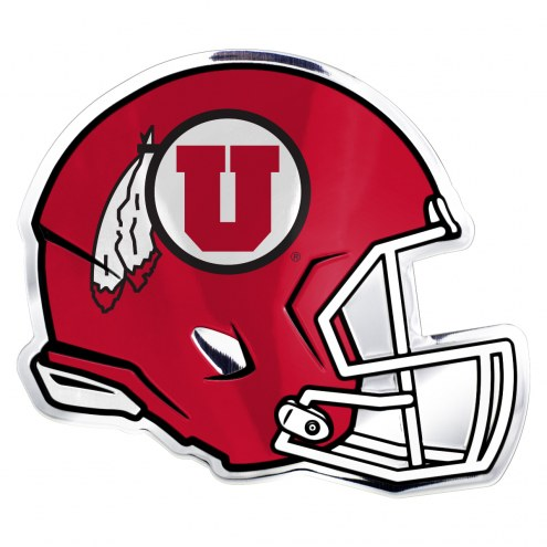 Utah Utes Helmet Car Emblem