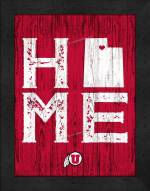 Utah Utes Home Away From Home Wall Decor