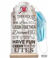 Utah Utes In This House Mask Holder