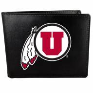 Utah Utes Large Logo Bi-fold Wallet