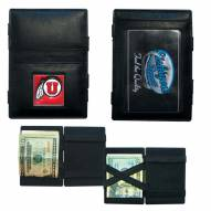 Utah Utes Leather Jacob's Ladder Wallet
