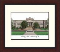 Utah Utes Legacy Alumnus Framed Lithograph