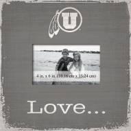 Utah Utes Love Picture Frame