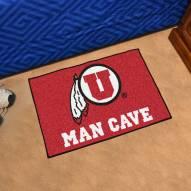 Utah Utes Man Cave Starter Mat