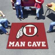 Utah Utes Man Cave Tailgate Mat
