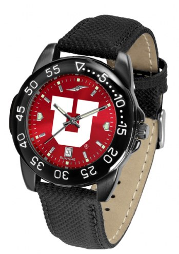 Utah Utes Men's Fantom Bandit AnoChrome Watch