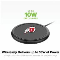 Utah Utes mophie Charge Stream Pad+ Wireless Charging Base