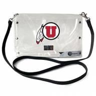 Utah Utes Clear Envelope Purse