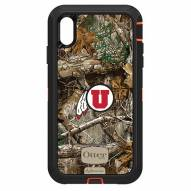 Utah Utes OtterBox iPhone XS Max Defender Realtree Camo Case