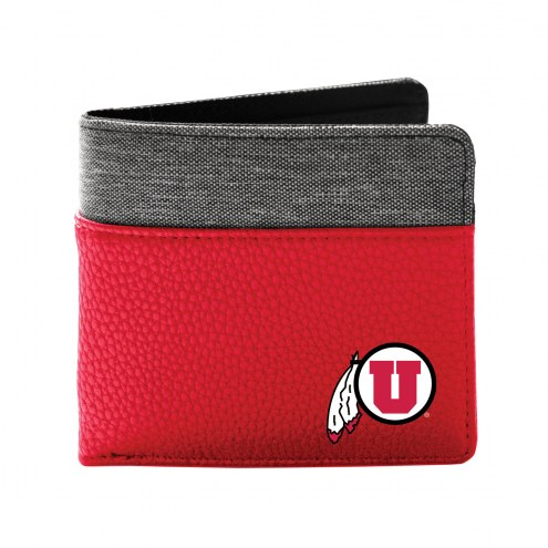 Utah Utes Pebble Bi-Fold Wallet