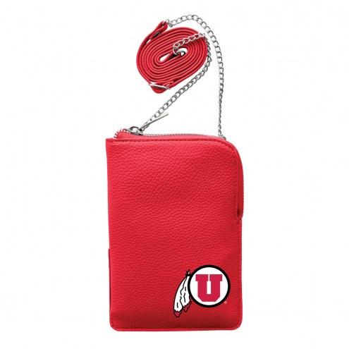 Utah Utes Pebble Smart Purse