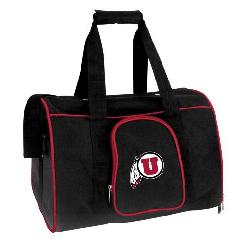 Utah Utes Premium Pet Carrier Bag