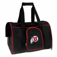 Utah Utes Premium Pet Carrier Bag