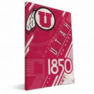 Utah Utes Retro Canvas Print