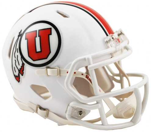 Utah Utes Riddell Speed Mini Collectible Alternate Football Helmet