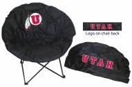 Utah Utes Rivalry Round Chair