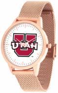 Utah Utes Rose Mesh Statement Watch