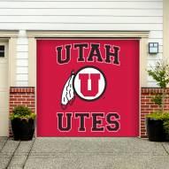 Utah Utes Single Garage Door Banner