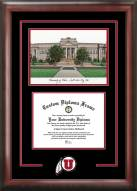 Utah Utes Spirit Graduate Diploma Frame