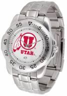 Utah Utes Sport Steel Men's Watch