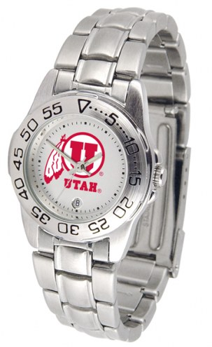 Utah Utes Sport Steel Women's Watch