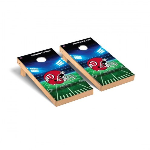 Utah Utes Stadium Cornhole Game Set