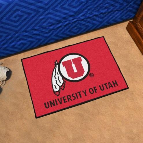 Utah Utes Starter Rug